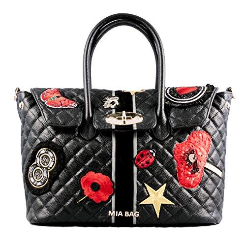 Mia Bag 17318 Borse a mano Donna Nero