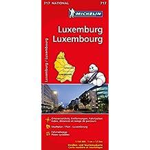 Luxemburg (Michelin Nationalkarte)