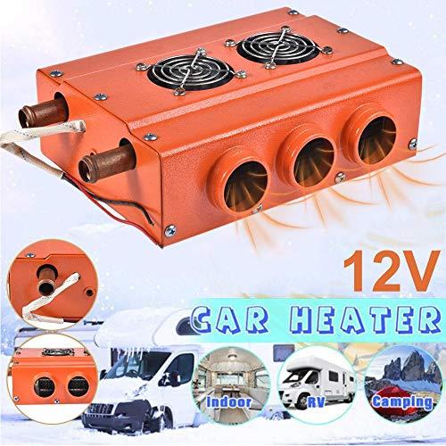 QUUY Desempañador de calefacción eléctrica para automóvil, Calentador eléctrico de Parabrisas 12V...