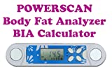 Gadget Hero's POWERSCAN Body Fat Analyzer / Tester. BIA Calculator.