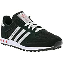 adidas Originals LA Trainer Calzature Nero Scarpe da Donna Sneaker Top 0003536ff6f