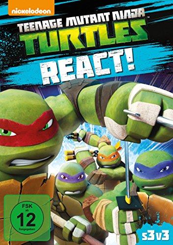 Teenage Mutant Ninja Turtles - React!