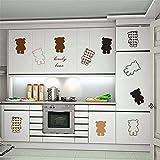 Hechgobuy Minimalistischen Schlafzimmer Kleiderschrank glücklich Jungen zu Wand Poster TV-Wand Dekoration Aufkleber PVC Wall Sticker, 45 * 60 cm