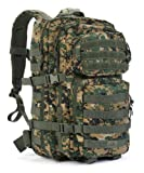 Red Rock Outdoor Gear Unisex 9005395 Red Rock Gear Large Assault Pack Woodland Digitale, Woodland Digital Camouflage, Taglia Unica