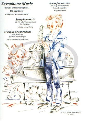 Saxophonmusik (Fur Alt- Oder Tenorsaxophon, Mit Kl...
