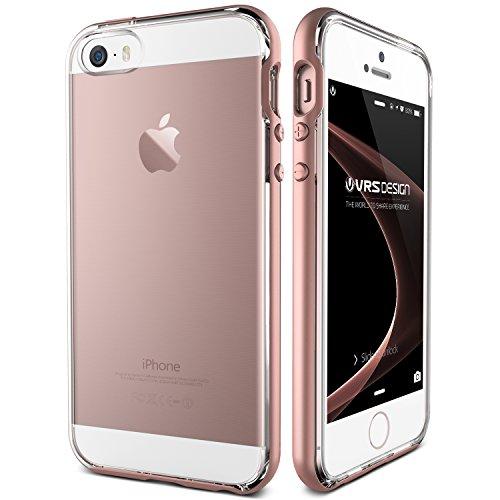 iphone-5-5s-se-case-vrs-designr-rose-gold-clear-back-slim-fit-shockproof-cover-crystal-bumper-premiu
