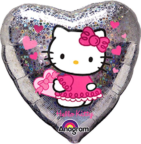 Globo Hello Kitty - Love Hearts, aprox 45 cm