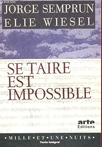 Se Taire Est Impossible [Pdf/ePub] eBook