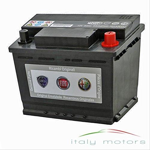 Original Ricambi Alfa Romeo Fiat Lancia Batterie con funzione Start/Stop 717511415108072112V 60AH 540a 242X 175X 190mm