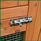 Kaninchenstall NCH10 M, Feel Good UK, doppelstöckig, mit innovativen Schließmechanismus - 3