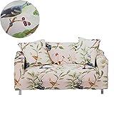 ENZER Sofa Schonbezug Stretch Elastischer Stoff Blumen Vogel Muster Sessel Doppelschlaf Couch Neue Kleidung