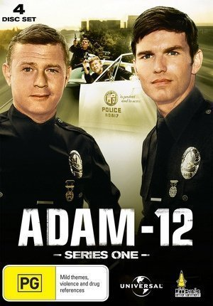Adam-12 (Series 1) - 4-DVD Set ( Adam 12 - Series One ) ( Adam Twelve ) [ NON-USA FORMAT, PAL, Reg.2.4 Import - Australia ] by Martin Milner Kent Mccord