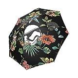 Custom Umbrella Personalisierte Das Blumen Weckt Rainy Sunny Regenschirm