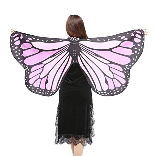 style_dress Damen Frauen Butterfly Wings Schmetterlingsflügel Schals Nymph Pixie Ponch Für Bauchtanz Tanz Schleier Flügel Zubehör Tanzen Kostüm Bauchtanz Fasching Karneval - Tanz Flügel Kostüm