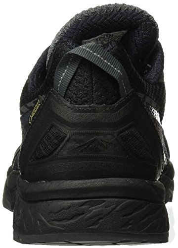 Asics Gel Fujitrabuco 5 Gtx, Scarpe De Trail Running Uomo Multicolore (noir / Dark Steel / Silver)