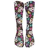 Sugar Skulls Compression Socks For Men & Women - Medical Graduated - Prevent Swelling & DVT - For Training, Flight Travel, Sedentary Lifestyle - Perfect For Maternity & Pregnancy