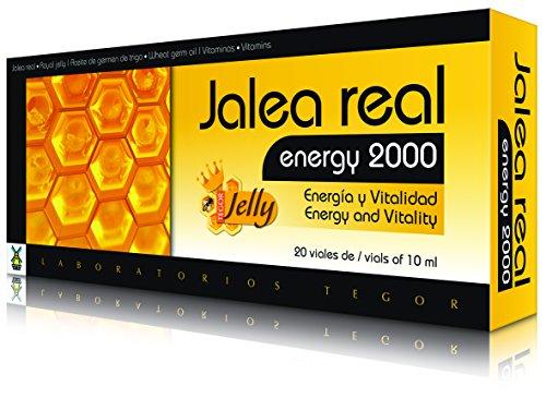 Tegor Jalea Real Fresca Energy 2000, color Ambar - 464 gr