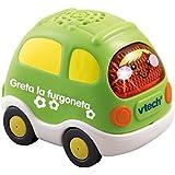 Tut Tut Bólidos - Vehículo de juguete Greta la furgoneta (VTech 3480-119522)