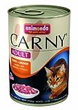 Animonda Carny Adult Rind plus Huhn 400 g - Katzenfutter, 6er Pack (6 x 400 g)