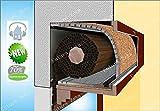 KIT tipo PLUS per ISOLAMENTO Acustico Termico Cassettoni Avvolgibili Tapparelle Finestre, Stop Rumore Spifferi, Kit 1,00 metro lineare.