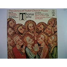 LP THOMAS TALLIS the glories of tudor church music