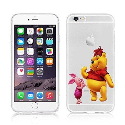 Disney Winnie The Pooh & Friends Coque souple en TPU pour Apple iPhone 5/5S et 5 Plus/S Plus., plastique, WINNIE & PIGLET .2, APPLE IPHONE 5SE