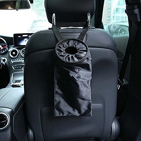 binrrio Trash Bag Auto Sitz Rückseite Wurf Tasche für Reisen, Outdoor, Home und Fahrzeug Verwendung