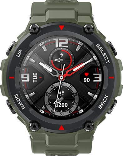Oferta de Xiaomi Amazfit T-Rex Reloj Inteligente Verde AMOLED 3,3 cm (1.3) GPS (satélite) - Amazfit W1919OV1N, 3,3 cm (1.3), AMOLED, Pantalla táctil, GPS (satélite), 58 g, Verde
