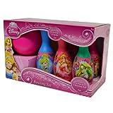 Disney Princess Bowling Spielset Spielzeug Kegeln Kinderbowling Prinzessin Set