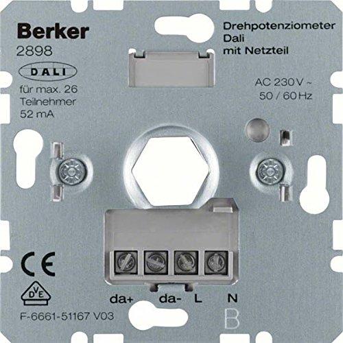 Preisvergleich Produktbild Hager Dali Dimmer mit Verdrehsicherung Laufwerk Netzteil