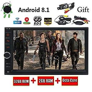 """comprar partes de autos por internet: EINCAR Doble DIN Android EST¨¦reo 8.1 Coches, 7"""" Pantalla t¨¢ctil capacitiva con..."""