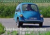 Heinkel Kabinenroller Typ 154 (Tischkalender 2018 DIN A5 quer): klein aber fein (Monatskalender, 14 Seiten ) (CALVENDO Mobilitaet) [Kalender] [Apr 01, 2017] Laue, Ingo