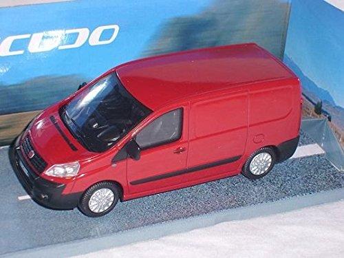 Fiat Scudo Rot Transporter Kasten Geschlossen 1/43 Mondo Motors Modellauto Modellauto (Geschlossene Motor)
