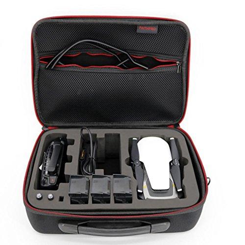 Storage Bag, Prevently nuovo creativo per quadricottero DJI Mavic Air + 3batteria + controllo impermeabile in tessuto Oxford leggero e a prova di borsa Tracolla, Nero
