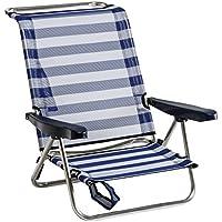 Alco 604ALF-0056- Silla Cama Playa Aluminio Fibreline Color 56