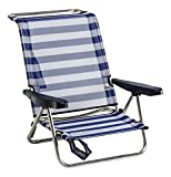Best Beach Chairs - ALCO 1 – 607 Chair Bed Beach Aluminium fibreline Color 56 Review