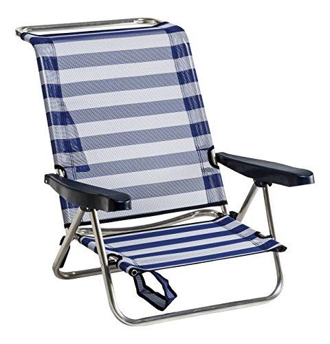 Alco 1 – 607 – Chaise Lit plage aluminium Fibreline couleur 56