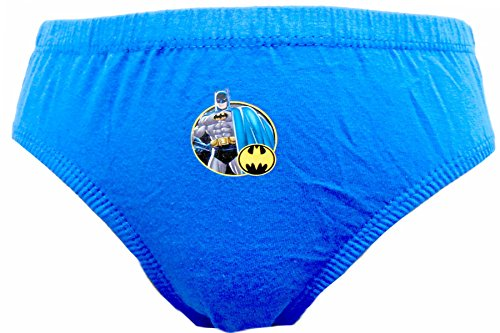 "Batman ""Logo"" Boys 6er Pack Slip Unterhose 3 -8 Jahre Mehrfarbig"