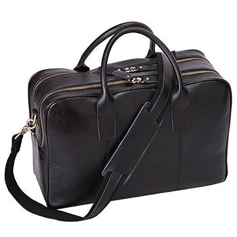 Leathario sac en cuir sac messager porte epaule sac serviette