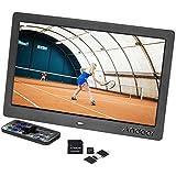 Galleria fotografica Andoer 10 HD Cornice Digitale con Largo LCD Schermo Foto Frame ad Alta Risoluzione 1024x600 Orologio MP3 MP4...
