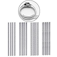 Xiluck Ring Size Adjuster,Safe and Durable Ring Size Adjuster for Loose Rings Size Adjusters for Men Women Rings (16 Pack)