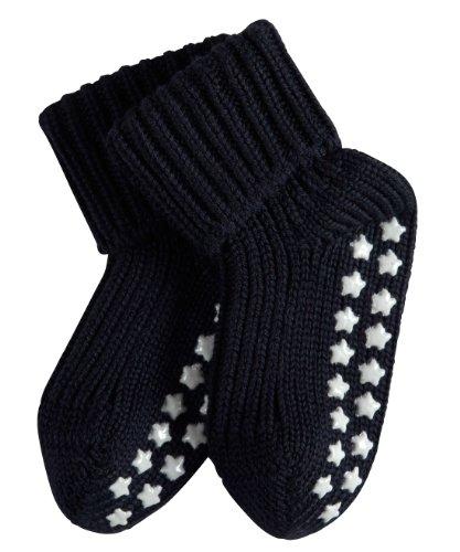 FALKE Unisex Baby Socken Cotton Catspads - Blau (Darkmarine) , 80 (Herstellergröße: 80-92 )