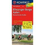 Ellwanger Berge - Aalen - Romantische Straße: Fahrradkarte. GPS-genau. 1:70000 (KOMPASS-Fahrradkarten Deutschland, Band 3102)