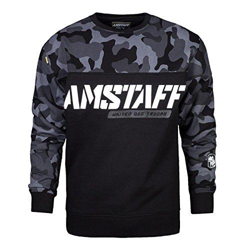 Amstaff -  Felpa  - Uomo Mimetico