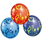 """Mickey Mouse, Donald Duck & Pluto All Over Print 11"""" Latex Balloons x 5"""