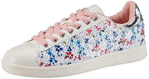 Fiorucci Damen Fepm057 Sneaker Weiß (BIANCO)