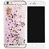 "Nnopbeclik [Coque Iphone 7 Plus Silicone] ""3D Motif Style"" Briller Diamant Transparente Backcover Rigide Housse pour Iphone 7 Plus Coque Silicone (5.5 Pouce) Antiglisse Anti-Scratch Etui ""NOT FOR IPHONE 7 4.7"" - [Pink2]"
