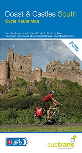 Coast & Castles South Cycle Route Map por Sustrans