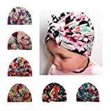 COUXILY Babymütze Baby Mädchen Mütze Neugeborenenmütze Erstlingsmütze Strick Hüte Mützen & Caps Hut- Baumwolle für 0-2 Jahre(HF-C01)
