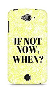 AMEZ if not now when Back Cover For Acer Liquid Z530